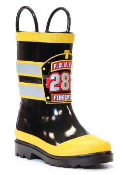 Fire Chief Rain Boots