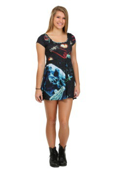 Star Fights Sublimated Juniors Skater Dress
