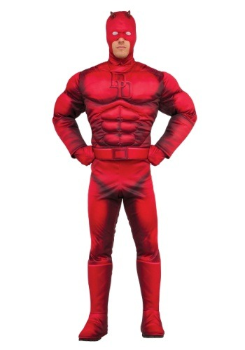 Deluxe Daredevil Mens Costume