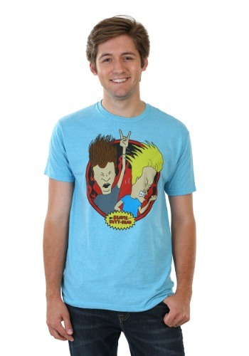 Beavis & Butthead Headbangers Law T-Shirt