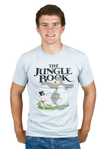 The Jungle Book Baloo and Mowgli Men's T-Shirt