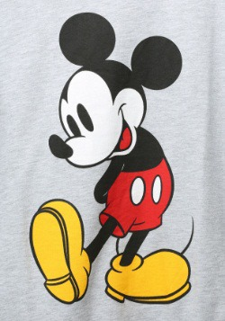 Mickey Mouse Classic Stance French Terry Long-Sleeved Tee2