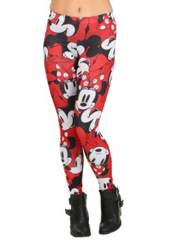 Minnie Mouse Emotions All Over Juniors Leggings