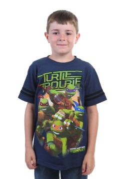 TMNT Turtle Trouble Juvy Boys Navy