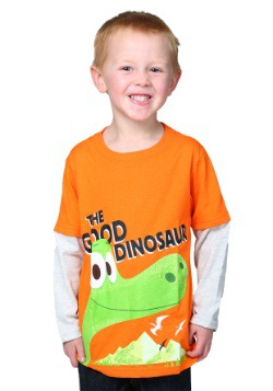 Good Dinosaur Toddler Orange Long Sleeve Shirt