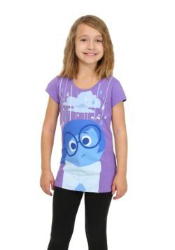 Girls Inside Out Sadness Raining Shirt