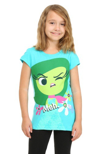 Girls Inside Out Disgust Meh Shirt