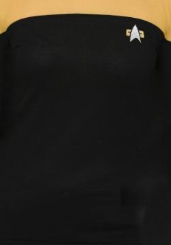Star Trek Juniors Sheer Yoke Gold Sweater2