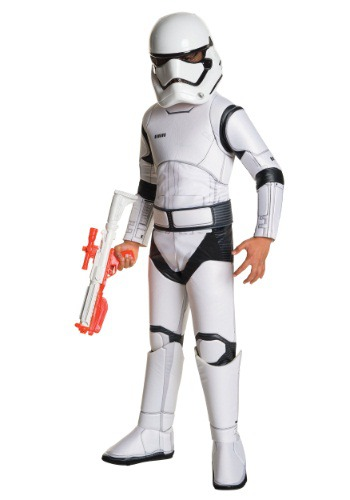 Child Super Deluxe Star Wars Episode 7 Stormtrooper Costume