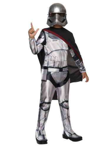 Child Classic Star Wars  Villain Trooper Commander Costume