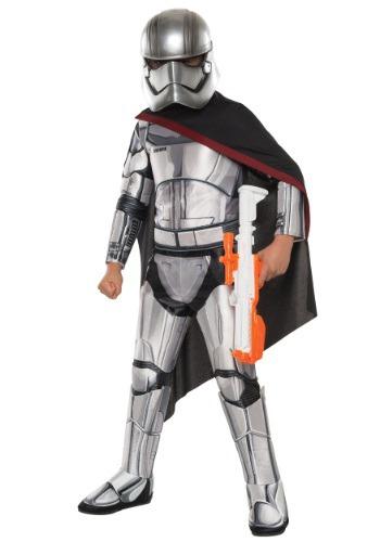 Child Deluxe Star Wars Villain Trooper Commander Costume
