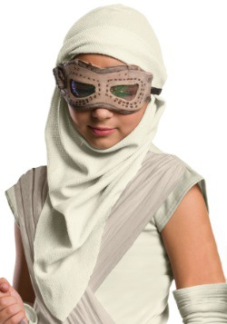 Child Star Wars Episode 7 Rey Eye Mask w/Hood1