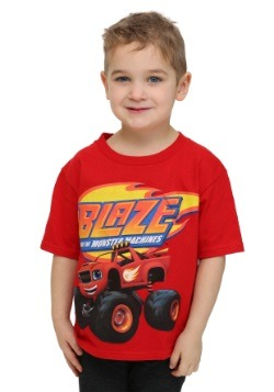 Blaze Monster Truck Boys T-Shirt