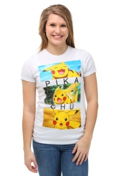 Pokemon Pikachu Emotion Boxes Juniors T-Shirt