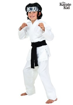 Child Karate Kid Daniel San Costume