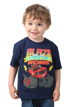 Toddler Boys Blaze And The Monster Machines Navy T-Shirt