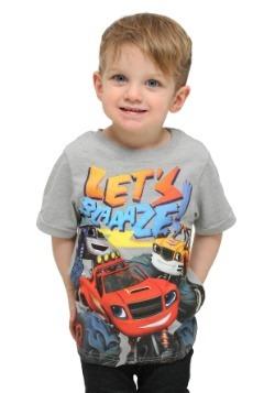 Toddler Blaze And The Monster Trucks Lets Blaze T-Shirt