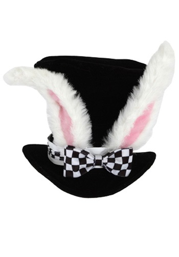 White Rabbit Wonderland Top Hat