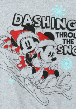 Mickey & Minnie Sleigh Ride French Terry Pullover2