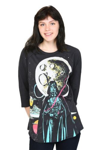 Star Wars Neon Vader Moon Juniors Dolman