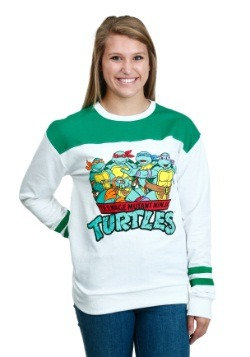 TMNT Group Shot Football Pull Over