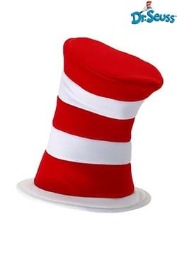 Deluxe Cat in the Hat Plush Velboa Hat