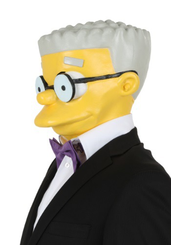 Simpsons Smithers Adult Mask