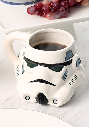 Stormtrooper Molded Ceramic Mug