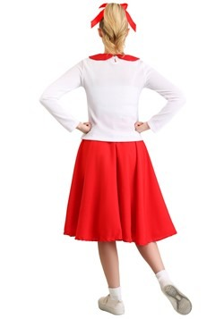 Women's Grease Rydell High Cheerleader Costume Alt 1