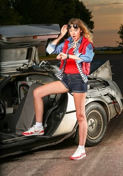 Women's Marty McFly Costume Alt 1