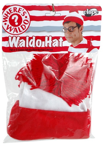 Where's Wally Costume Hat