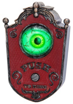 Animated Eyeball Doorbell Halloween Decor