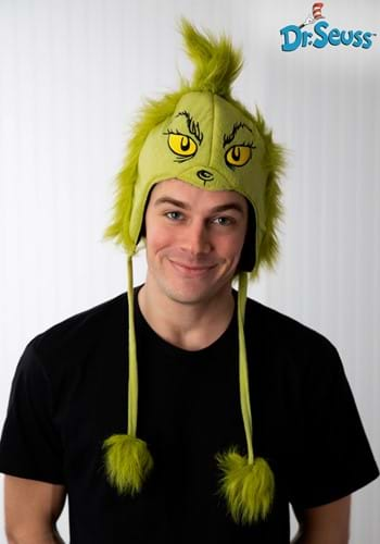Green Grinch Character Hoodie