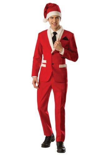 Men's Christmas Santa Suit