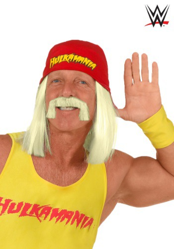 WWE Hulk Hogan Wig1