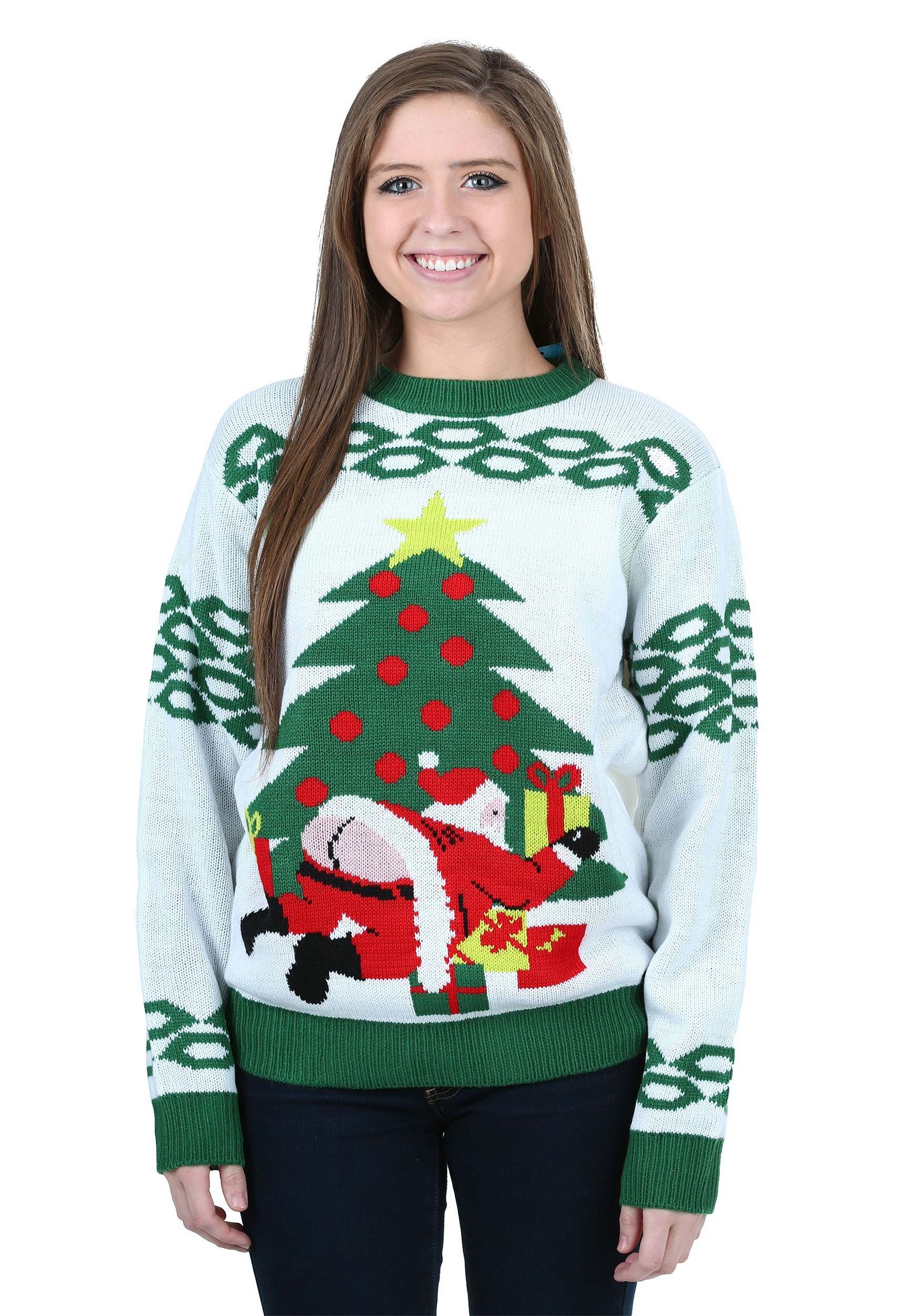 8106f105732 Butt Crack Santa Ugly Christmas Sweater