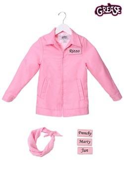 Child Authentic Pink Ladies Jacket Alt 2