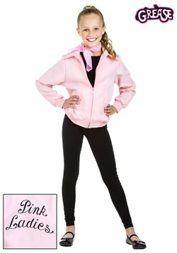Deluxe Pink Ladies Girls Jacket