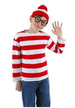 Where's Waldo Kids Costume