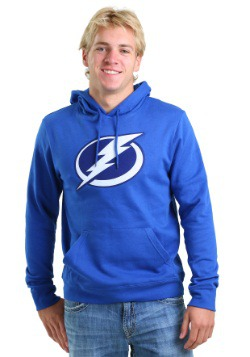 Tampa Bay Lightning Tek Patch Mens Hoodie