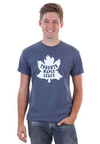 Toronto Maple Leafs Vintage Tek Patch Mens T-Shirt