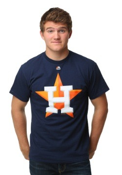 Houston Astros Official Logo Men's T-Shirt