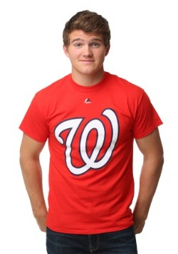 Washington Nationals Official Logo Men's T-Shirt