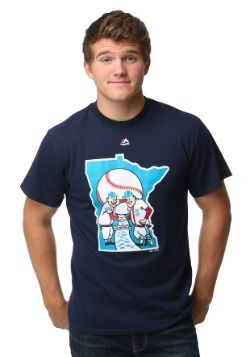 Minnesota Twins Cooperstown Logo Men's T-Shirt