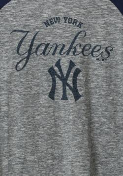 New York Yankees Fast Win Mens Raglan1