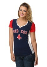 Boston Red Sox Time to Shine Womens Shirt