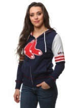 Boston Red Sox Big Time Attitude Womens Hoodie