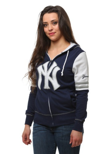 New York Yankees Big Time Attitude Womens Hoodie