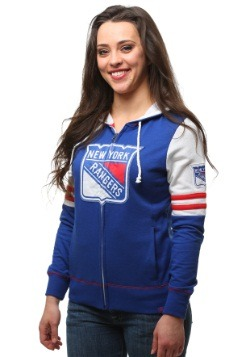 New York Rangers Big Time Attitude Womens Hoodie