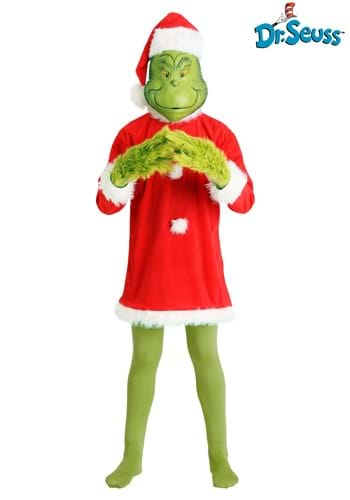 Mens Deluxe Grinch Costume